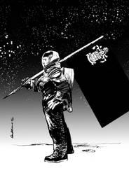 Space doodle by Paul-Moore