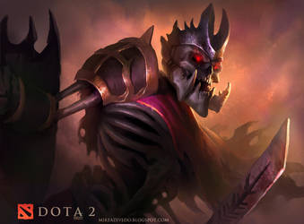 Skeleton King by MikeAzevedo