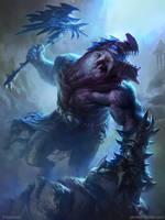 The dragon tribe God (Advanced) by MikeAzevedo