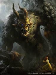 Demonic Babarian by MikeAzevedo