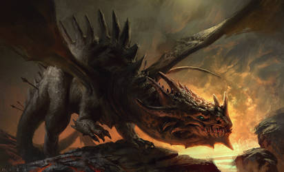 Tony, the dragon by MikeAzevedo