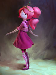 Princess Bubblegum by MikeAzevedo