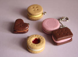 Polymer Clay Biscuits by breatheday