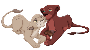 Comm: Snuggles by Paint-Puff