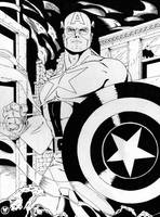 Captain America by MikeMahle