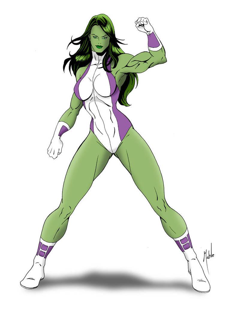 Sexy hulk chan