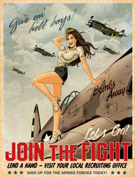 Join the Fight WWII by MikeMahle
