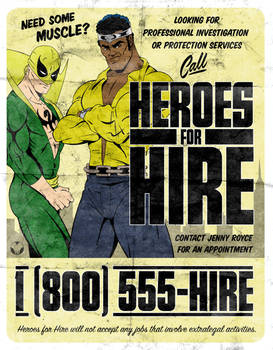 Heroes for Hire by MikeMahle