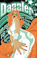 Dazzler gig poster by MikeMahle