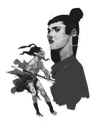Une Femme by oldboy93