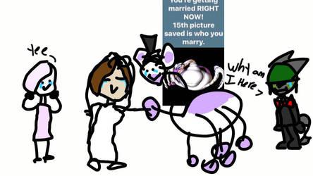 my wedding  by EliseCrazyHeart