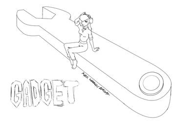 Quick Sketch: Gadget Hackwrench by TheMarkofMark