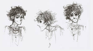 Tabaqui sketches by FG-Twins