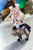 Super Sonico Bunny by YurikoTiger