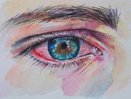 Red eye by Lusidus