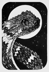 Day 18. Cute snake by Lusidus