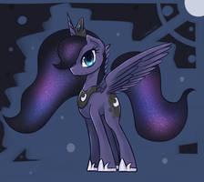 Princess Luna by eShredder