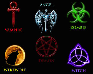 Symbols of the Supernatural by RangerClaw
