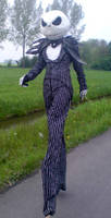 Jack Skellington costume by Mnemousyne