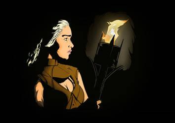 Daenerys Targaryen by Mr-FunnyFace