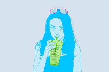 Mila Kunis by Mr-FunnyFace