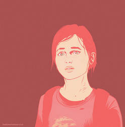 last of us Ellie vector by Mr-FunnyFace