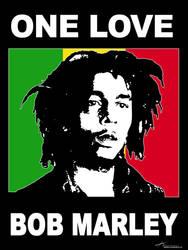Bob Marley by kuryCZE