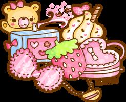 Pink lolita inspiration by steffne