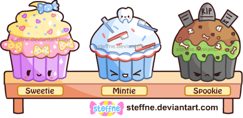 Cupcakie Pals by steffne