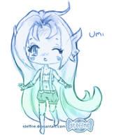 Umi sketch by steffne