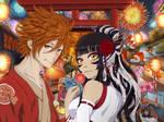 Japanese Festival by Shirogahara