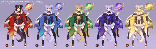 MSL Elementar Colors by Shirogahara