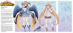 BNHA OC - Hotaris Quirk Ref Sheet by Shirogahara