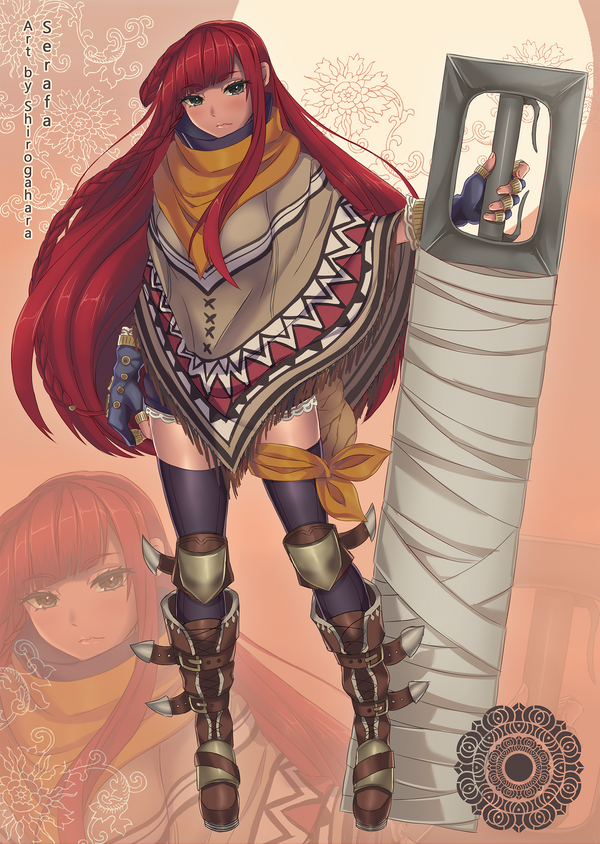 Commission - Serafa by Shirogahara