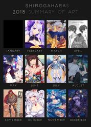 2018 Art Summary by Shirogahara