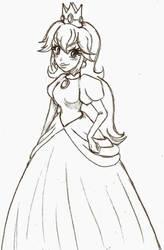 Princess Peach by Margaretto-Ri