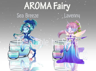 [Open] Adoptable [Aroma Fairy] by Sette-Seventh