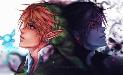The Same - Dark Link ~ Link by AikaXx