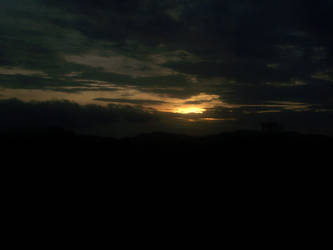 The Setting Sun... by adityagautam