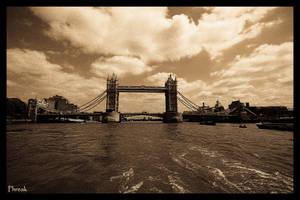 London... tower bridge by Halucinogenic