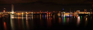 Docklands Panorama by abhenna