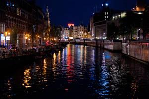 Amsterdam canal by abhenna
