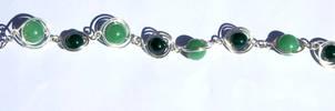 Aventurine and green jasper bracelet by 237743936