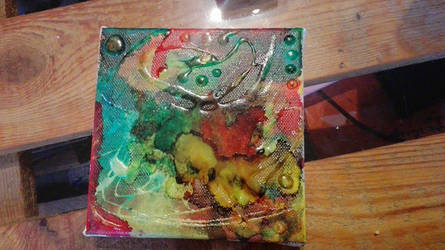 Resin and alcohol painting by 237743936