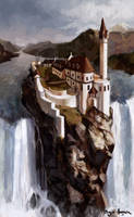 The Falls at Abhorsen's House by zombat