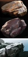 Rock Studies by zombat