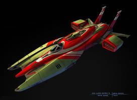 Star Swarm  - Bomber B concept by zombat
