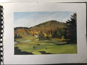 Fall in Vermont 1 by zombat