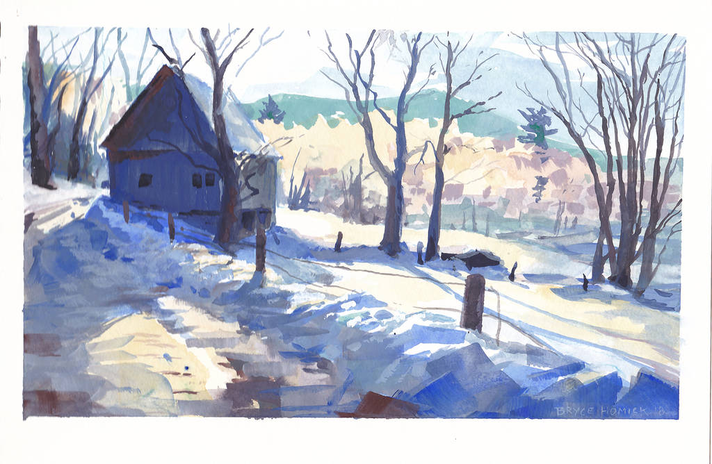 Vermont in Winter 1 by zombat