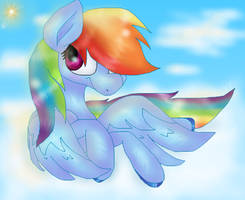.:Rainbow Dash:. by PlagueDogs123